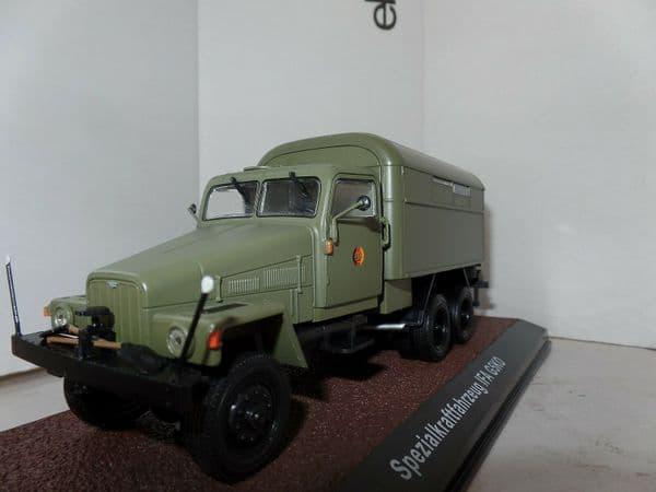 Atlas BL54 1/43 IFA G5KO Spezialkraftfahrzeug NVA-Fahrzeuge East German Army